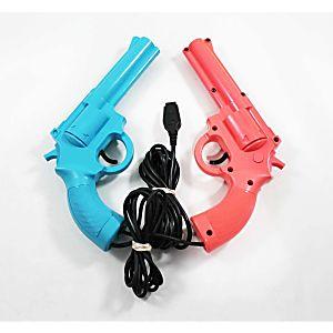 Sega Genesis Konami Justifier Gun Combo (Pink/Blue)