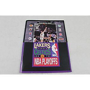 Manual - LAKERS VERSUS CELTICS AND THE NBA PLAYOFFS - Sega Genesis