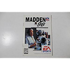 Manual - Madden Nfl 96 - Sega Genesis