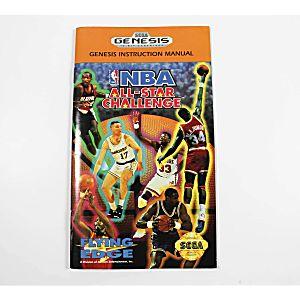 Manual - Nba All-Star Challenge - Sega Genesis