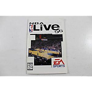 Manual - Nba Live 96 - Sega Genesis