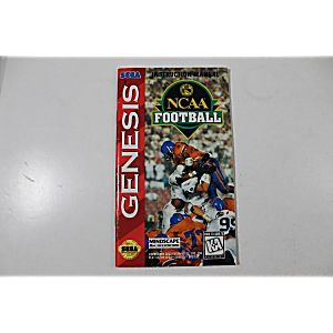 Manual - Ncaa Football - Sega Genesis