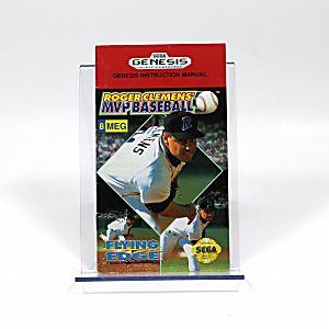 Manual - Roger Clemens Mvp Baseball - Sega Genesis