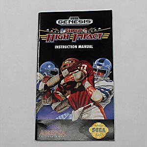 Manual - Super High Impact - Sega Genesis