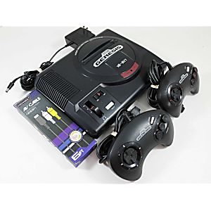 Sega Genesis Console System with 2 Controllers