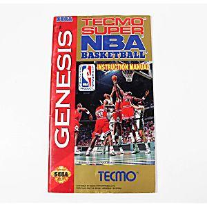 Manual - Tecmo Super Nba Basketball - Sega Genesis