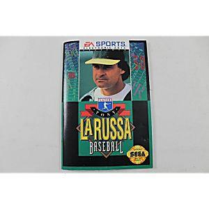 Manual - MLB PLAYERS TONY LA RUSSA BASEBALL - Sega Genesis