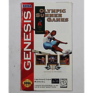 Manual - Olympic Summers Atlanta 96- Sega Genesis
