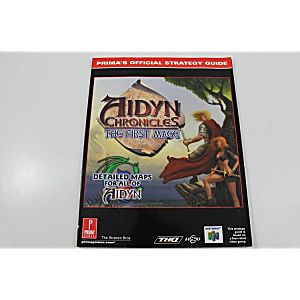 AIDYN CHRONICLES: THE FIRST MAGE OFFICIAL STRATEGY GUIDE (PRIMA GAMES)