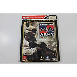 AMERICA'S ARMY: RISE OF A SOLDIER OFFICIAL GAME GUIDE (PRIMA GAMES)