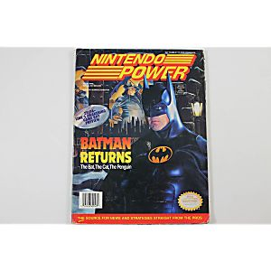 Nintendo Power Volume 48: Batman Returns
