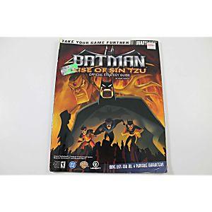 Batman: Rise of Sin Tzu Official Strategy Guide (Brady Games)