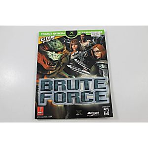 BRUTE FORCE OFFICIAL STRATEGY GUIDE (PRIMA GAMES)