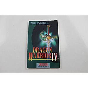 DRAGON WARRIOR IV HINT BOOK (TOKUMA PUBLISHING)