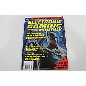 ECM ELECTRONIC GAMING MONTHLY: BATMAN RETURNS NUMBER 36
