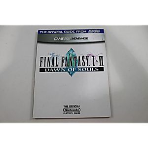 FINAL FANTASY I & II: DAWN OF SOULS OFFICIAL PLAYERS GUIDE (NINTENDO POWER)