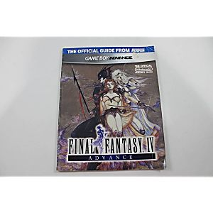 FINAL FANTASY IV ADVANCE OFFICIAL PLAYERS GUIDE (NINTENDO POWER)