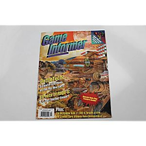 GAME INFORMER MAGAZINE: BATTLE TECH JULY/AUGUST 1994 VOL. III ISSUE 4