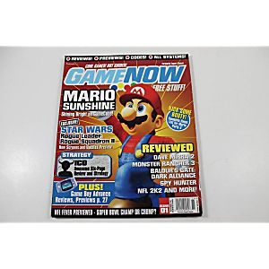 GAMENOW ISSUE 01 NOVEMBER 2001