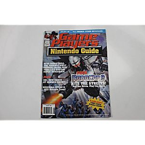 GAME PLAYERS NINTENDO GUIDE ROBOCOP 3 AUGUST 1992 VOL.5 NO.8