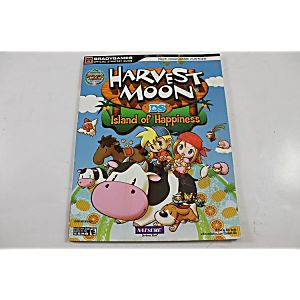 HARVEST MOON: ISLAND OF HAPPINESS OFFICIAL STRATEGY GUIDE (BRADY GAMES)