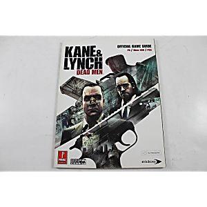KANE & LYNCH: DEAD MEN OFFICIAL GAME GUIDE (PRIMA GAMES)
