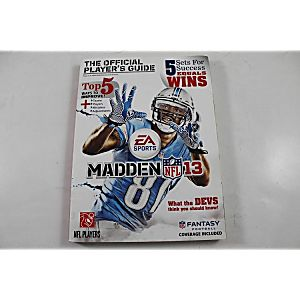 MADDEN NFL 13 OFFICIAL PLAYER's GUIDE (PRIMA GAMES)
