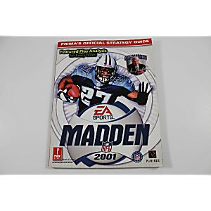 MADDEN NFL 2001 OFFICIAL STRATEGY GUIDE (PRIMA GAMES)