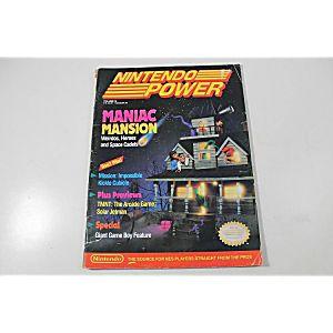 NINTENDO POWER: MANIAC MANSION VOLUME 16