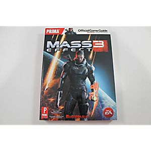 MASS EFFECT 3 OFFICIAL GAME GUIDE (PRIMA GAMES)
