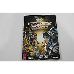 MORTAL KOMBAT VS. DC UNIVERSE OFFICIAL GAME GUIDE (PRIMA GAMES)