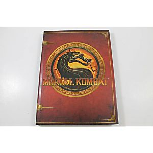 MORTAL KOMBAT KOLLECTOR'S EDITION GUIDE (HARDCOVER BOOK)