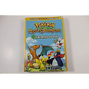 POKEMON MYSTERY DUNGEON EXPLORERS OF SKY OFFICIAL POKEMON STRATEGY GUIDE