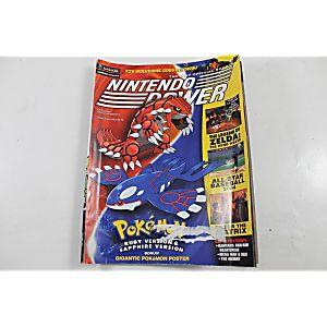 NINTENDO POWER VOLUME 167 POKEMON RUBY/SAPPHIRE