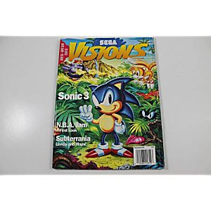 SEGA VISIONS: SONIC 3 FEBRUARY/MARCH 1994 ISSUE