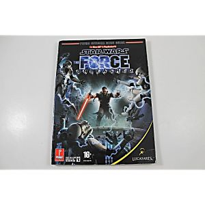 STAR WARS THE FORCE UNLEASHED OFFICIAL GAME GUIDE (PRIMA GAMES)