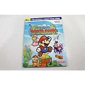 SUPER PAPER MARIO OFFICIAL STRATEGY GUIDE (NINTENDO POWER)