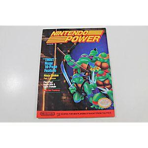 NINTENDO POWER: TMNT MAY/JUNE 1989