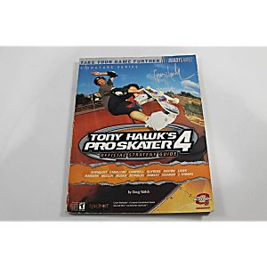 TONY HAWKS PRO SKATER 4 OFFICIAL STRATEGY GUIDE (BRADY GAMES)