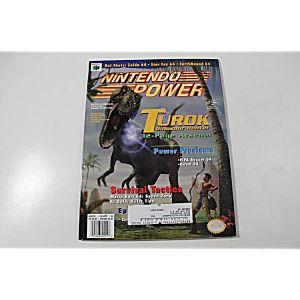 NINTENDO POWER: TUROK DINOSAUR HUNTER MARCH VOLUME 94