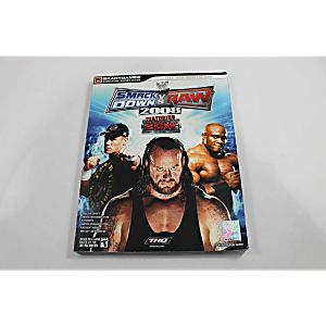 WWE SMACKDOWN VS RAW 2008 SIGNATURE SERIES GUIDE (BRADY GAMES)