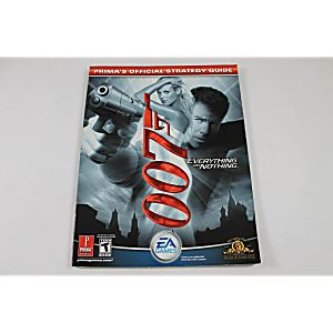 007 Everything Or Nothing (Prima Games)