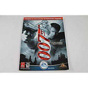 007 Everything Or Nothing (Prima Games)