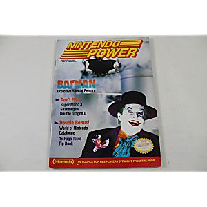 Nintendo Power Issue January/February 1990: Batman