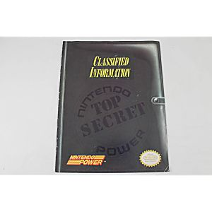 Classified Information Nintendo Power Top Secret