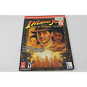 Indiana Jones And The Emporers Tomb (Prima Games)