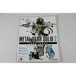 Metal Gear Solid 2: Substance Official Strategy Guide (Brady Games)