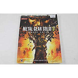 Metal Gear Solid 3: Snake Eater (Brady Games)