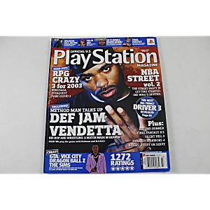 Official Playstation Magazine March 2003 Issue 66