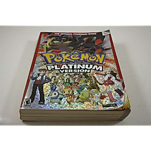 Pokemon Platinum Version Official Pokemon Guide